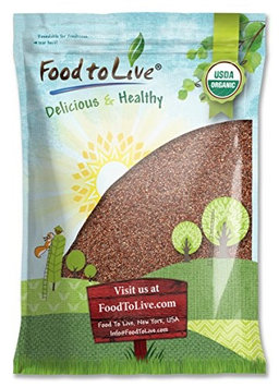Food To Live ® Certified Organic Radish Seeds for Sprouting (10 Pounds)