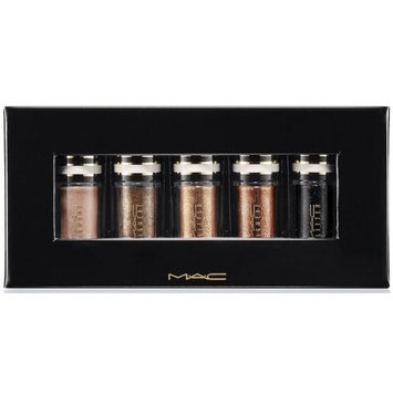 MAC NOCTURNALS COLLECTION - BLACK & GOLD PIGMENT/GLITTER HOLIDAY SET