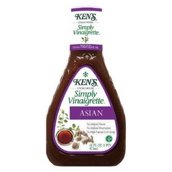 Ken's Simply Vinaigrette Asian - 16oz
