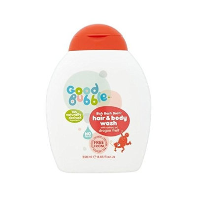 Good Bubble Hair & Body Wash with Dragon Fruit Extract 250ml - Pack of 6