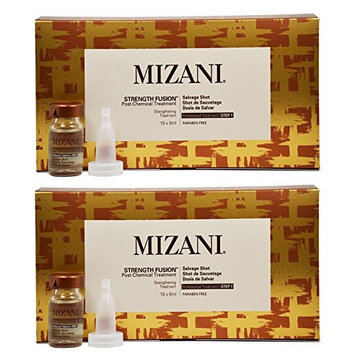 Mizani Strength Fusion Post-Chemical Treatment Salvage Shot Strengthening Treatment 10 vials x 6 ml