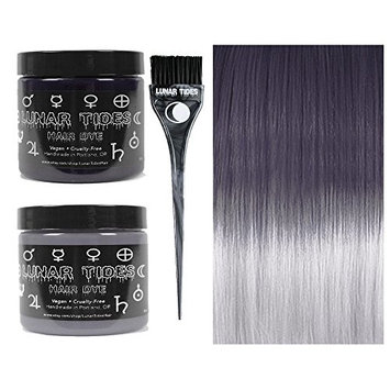 Lunar Tides Hair Dye - Grey DIY Ombre Hair Dye Kit