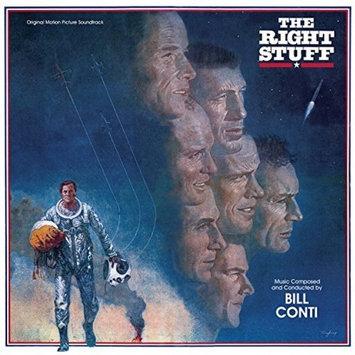 Bill Conti The Right Stuff Soundtrack (Vinyl)