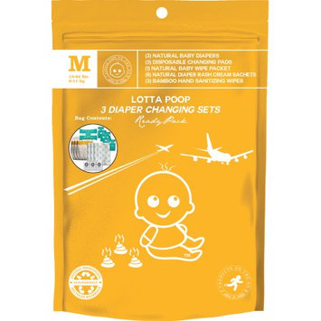 Products on the Go POTG1011VB Lotta Poop 3 Complete Diaper Change Sets Medium