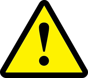 Accu Form GENERAL WARNING HAZARD