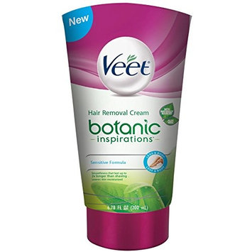 Veet Botanic Inspirations Gel Cream, 6.78 oz., for Legs & Body (Pack of 10)