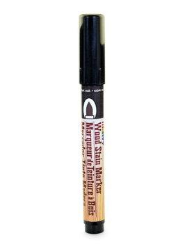 Marvy Uchida Wood Stain Markers brush tip, dark oak [pack of 6]