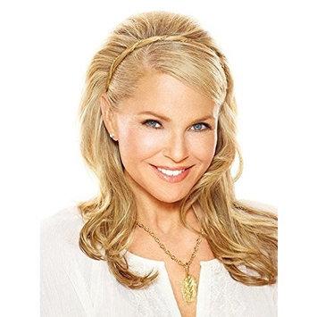 Corinthian Braided Headband Color HT22 Platinum Blonde - Christie Brinkley 3/8