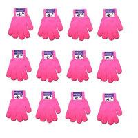 Children Warm Magic Gloves Teens Winter Gloves Boys Girls Knit Gloves(7 to 16 years