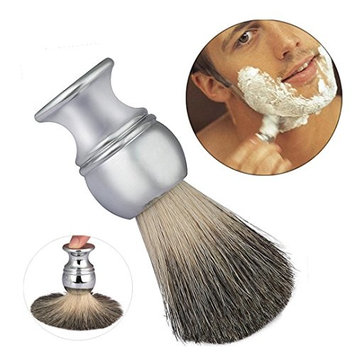 DZT1968 ZY Luxury 100% Pure Badger Hair Shaving Brush Alloy Handle waist design Shave Barber