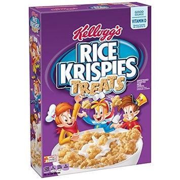 Rice Krispies Kellogg's Treats, Breakfast Cereal, Low Fat, 11.6 oz Box(Pack of 12)