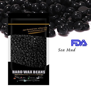 Waxkiss Hard Wax Beans FDA Certified 100g Waxing Bean for Eyebrow Armpit Legs Arms Bikini Hair Removal and Wax Any Part of Your Body Hair Aloe Vera