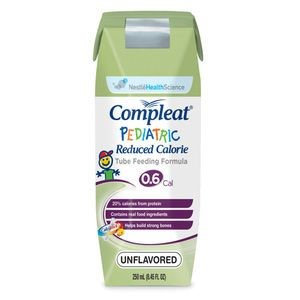 Compleat Pediatric Reduced Calorie Tube Feeding Formula Ready to Use