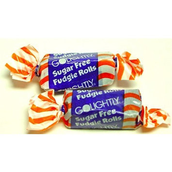Golightly FUDGIE ROLLS, 1 lb, Sugar Free, Individually wrapped (about 65 pcs)