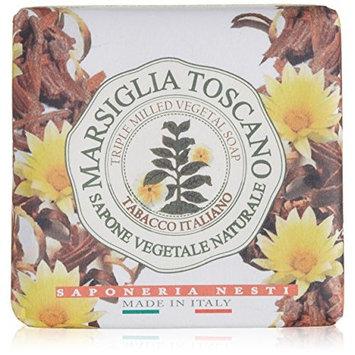 Nesti Dante Marsiglia Toscano Triple Milled Vegetal Soap, Tabacco Italiano, 7 Ounce