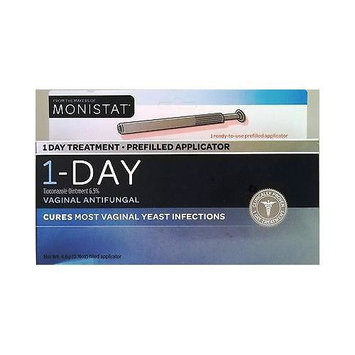 Monistat 1 Day Treatment Prefilled App. Vaginal Antifungal Tioconazole 6.5