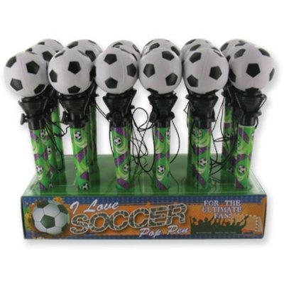 D.M. Merchandising 1949200 Soccer Pop Pen - Case of 64