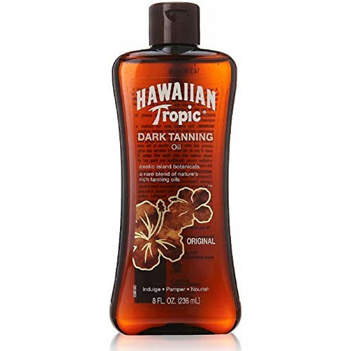 Hawaiian Tropic Dark Tanning Oil Original - 8 oz by Trifing by Trifing