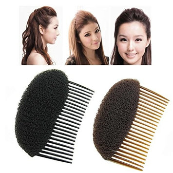AnHua 1PC Charming BUMP IT UP Volume Inserts Do Beehive hair styler Insert Tool Hair Comb Black/Brown colors for choose Hot