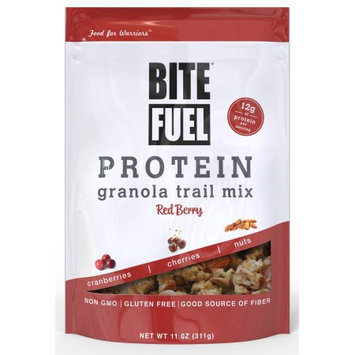 Protein Granola Trail Mix (Red Berry) - 11 oz (311 Grams) by Bite Fuel