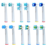 Oral B Replacement Compatible Brush Heads Pack of 12 Assorted Heads