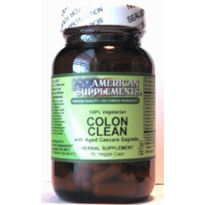 Colon Clean No Chinese Ingredients American Supplements 90 VCaps