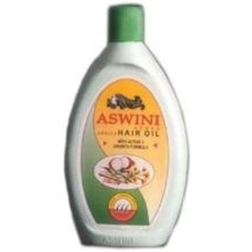 Aswini Hair Oil - Ideal cure for Hair Fall, Dandruff, Hair Split, Greying and Headaches, 200 ml (Pack of 2)