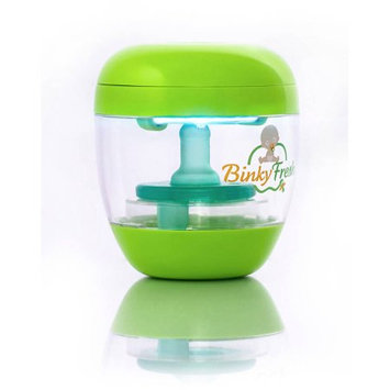 3b Global Binky Fresh UV Pacifier and Baby Bottle Sanitizer, Green