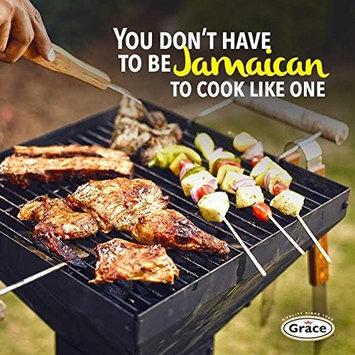 Grace Jerk Seasoning - Hot - 4 Pack 10 oz - Spicy Authentic Jamaican Jerk Sauce - Caribbean Marinade Rub for Chicken, Pork, Fish, Vegetables, Steak, Tofu and More - Bonus Jerk Cooking Recipe eBook [Hot]