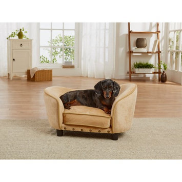 Enchanted Home Pet Ultra Plush Snuggle Pet Bed Mink