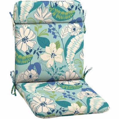 Arden Companies Better Homes and Gardens Outdoor Patio Wrought Iron Chair Pad, Multiple Patterns