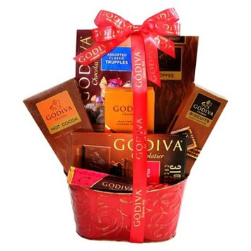 Alder Creek Gifts Godiva Chocolate Devotion Basket
