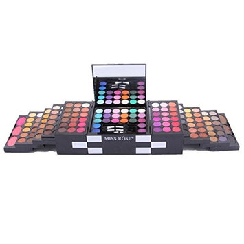 1 Set Make Up Matte 144 Color Eye Shadow 3 Color Blush 3 Color Highlighter Eyebrow Powder for Party Festival Dalily Use Eye Make Up By YOYORI