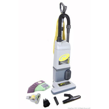ProTeam Proforce 1200xp Upright Vacuum Cleaner, Grays