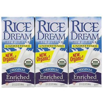 Dream Rice Drink - Original Unsweetened - 32 oz - 3 pk
