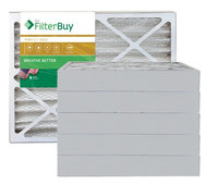 AFB Gold MERV 11 18x30x4 Pleated AC Furnace Air Filter. Filters. 100% produced in the USA. (Pack of 6)