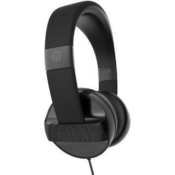Zagg On Ear Kopfhorer Ifrogz Audio Carbide-Headphone mit Mikrofon, Schwarz