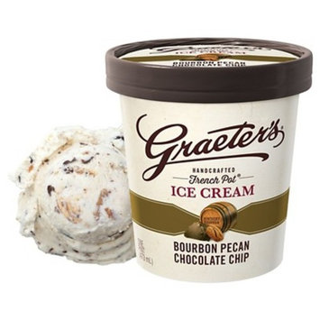 Graeter's® Bourbon Pecan Chocolate Chip Ice Cream - 16oz