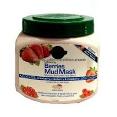 Hollywood Style 52300 21 oz Exfoliating Berries Mud Mask in Jar