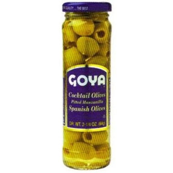 Goya Foods Cocktail Pitted Olives, 2.25-Ounce (Pack of 12)