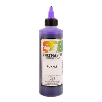 Chefmaster 9-Ounce Purple Airbrush Cake Decorating Food Color