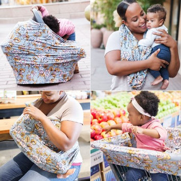 Covered Goods ® Denim Daisy Four-in-One Multi-Use Cover