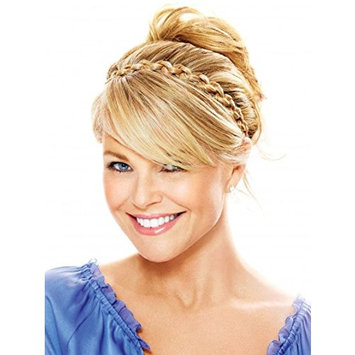 Thick Braided Headband Color HT10 Med Brown - Christie Brinkley 1/2