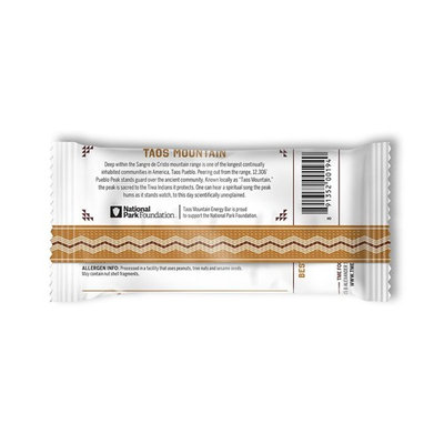 Taos Mountain Energy Bar - Almond Agave (2.2 Ounce, 12 Count)