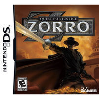 Games Zorro - Quest for Justice DS New
