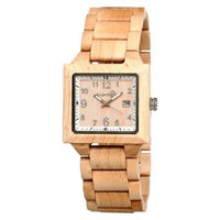 Men's Earth Wood Culm Watch with Luminous Hands