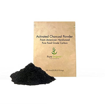 Activated Charcoal Natural Teeth Whitening Powder, Highest Quality, USP Pharmaceutical and Food Grade, Vegan (Also available in 4 ounce, 1 pound and 50 pound)