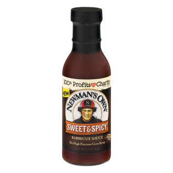 Newman's Own Sweet & Spicy Bbq Sauce - 15oz