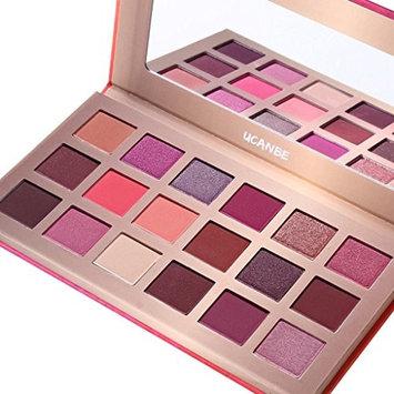 Jinjin UCANBE18 Colors Eye Makeup Pearl Metallic Eyeshadow Palette