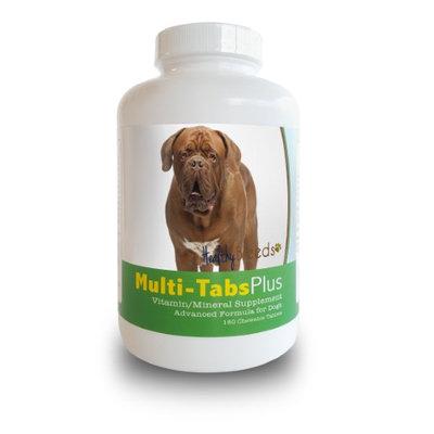 Healthy Breeds 840235140122 Dogue de Bordeaux Multi-Tabs Plus Chewable Tablets - 180 Count